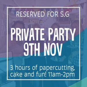 birthday workshop