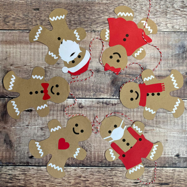gingerbread bunting