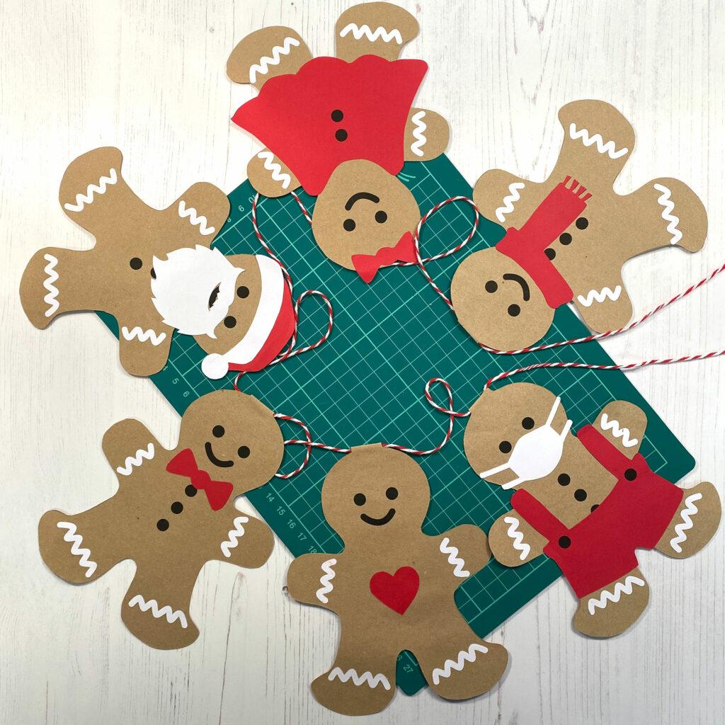 Gingerbread Bunting