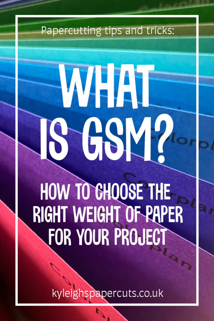 What is GSM? how to choose the right weight of paper for your project
