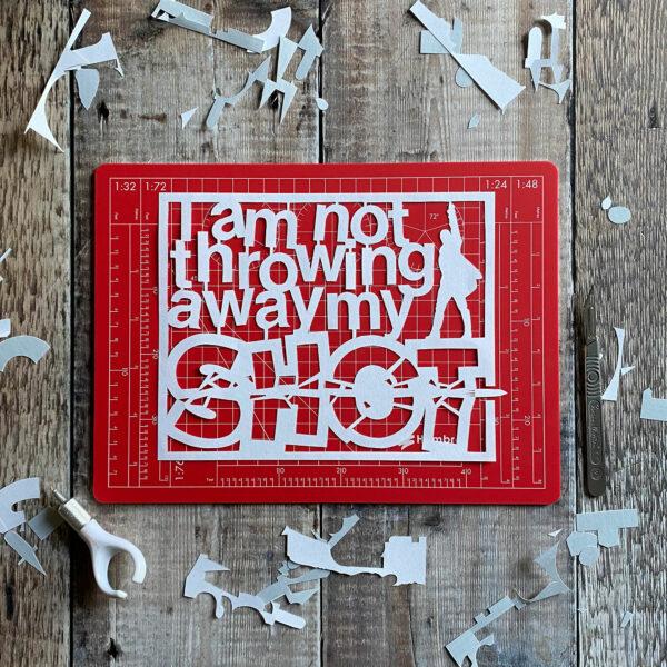 hamilton fan art template