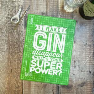 I make gin disappear
