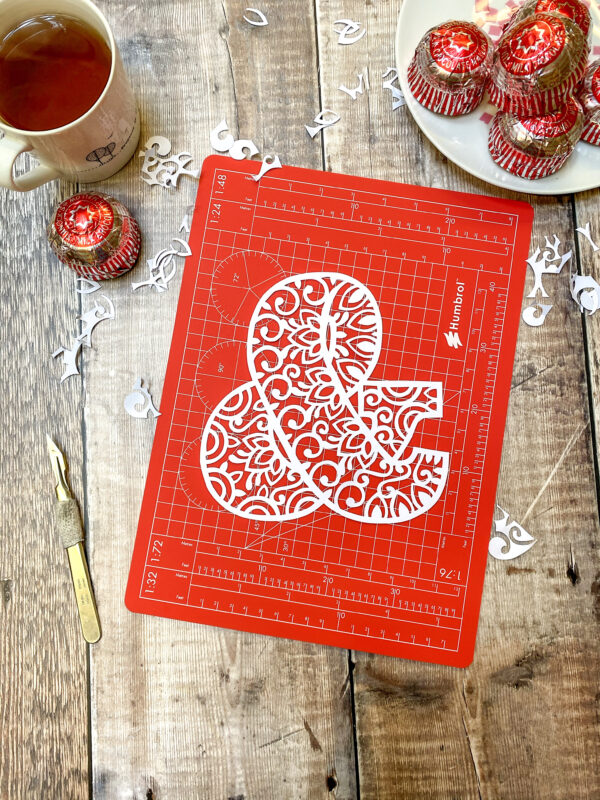 Ampersand Papercut